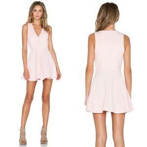 Geneva Dress in Blush Pink